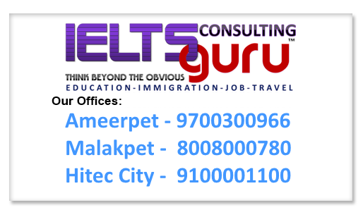 Best IELTS Coaching in Hyderabad, Top Coaching Centre for GRE, TOEFL