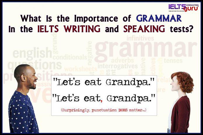 Grammar for IELTS | IELTS writing | and | IELTS speaking